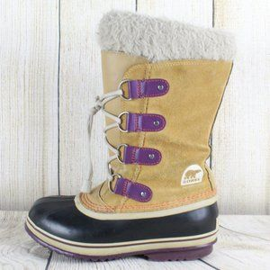 SOREL Joan Arctic Winter Snow Boots Size 4